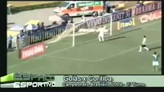 TV Transamérica - Arquivo da Bola: Coritiba x Goiás - Brasileiro 2009