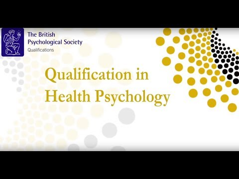 BPS Qualification in Health Psychology