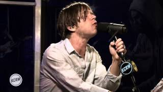 "Cage the Elephant performing ""Telescope"" Live on KCRW"