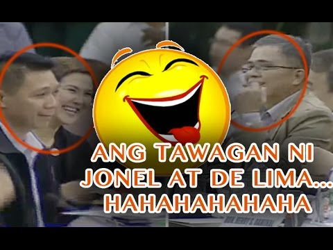 "Ang tawagan ni LEILA DE LIMA at Jonel Sanchez  as ""SWEETIE"""