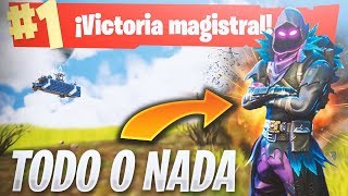 La VICTORIA MÁS AJUSTADA!! Fortnite: Battle Royale