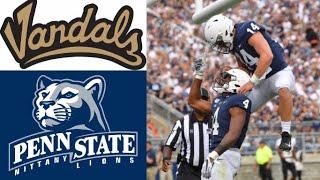 Idaho vs Penn State Highlights   NCAAF Week 1   College Football Highlights