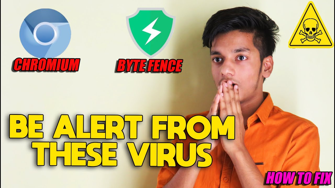 Be Alert !  From These Viruses | How To Remove Chromium And ByteFence In Your Computer | In Hindi |