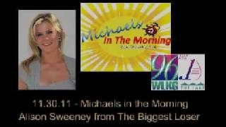 Michaels in the Morning - Alison Sweeney 113011 Interview
