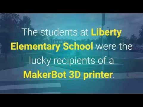 3D Printing in School Chooses Liberty Elementary