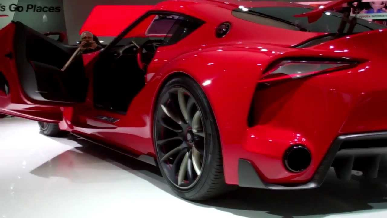 Coolest Cars Of The 14 Detroit Autoshow (Mustang, Corvette, Viper, Lexus,  Toyota FT 1, Bass 770)   YouTube