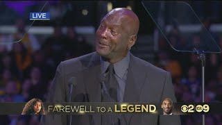 A Celebration of Life for Kobe and Gianna Bryant: Michael Jordan