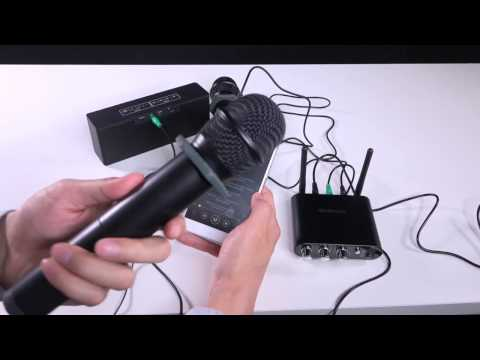 Docooler UHF Wireless Microphone System with Two Handheld Microphones for KTV Teaching