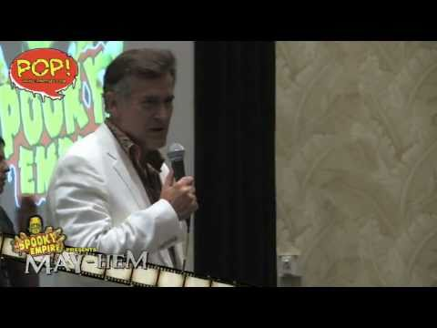 Bruce Campbell Q&A from Spooky Empire's MAY-HEM 2011!