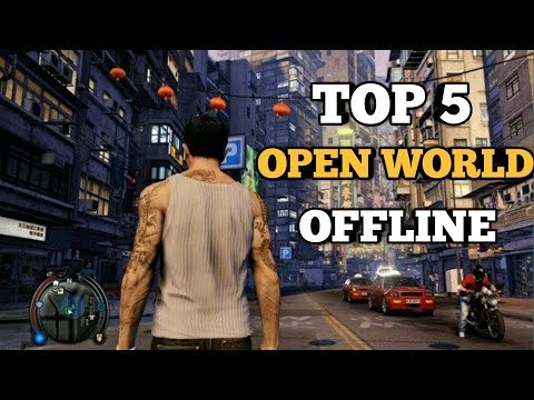 5 GAME OPEN WORLD OFFLINE ANDROID TERBAIK 2019 #2 - 동영상