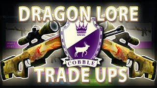 CS:GO DRAGON LORE TRADE UPS (FAIL)