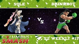 Sole vs Drinkbot : Columbus Weekly 12/20/2016