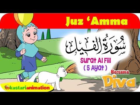 QS. AL FIIL | Mengaji Juz Amma bersama Diva | Kastari Animation Official