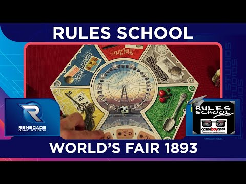 How to Play World's Fair 1893 (Rules School) with the Game Boy Geek