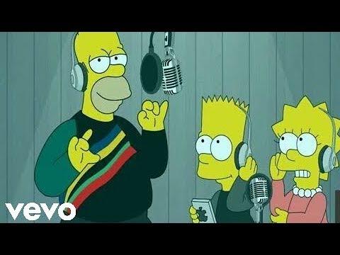 Dura - Daddy Yankee (Video Oficial) Los Simpson