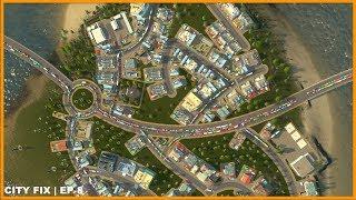 Worst Island Traffic Ever! | CITY FIX | Cities Skylines