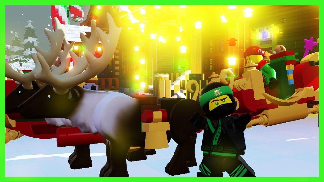 LLOYD w Świątecznej Krainie LEGO Worlds (LEGO Ninjago Christmas)