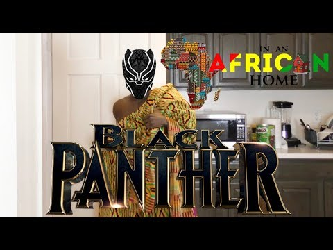 In An African Home: Black Panther