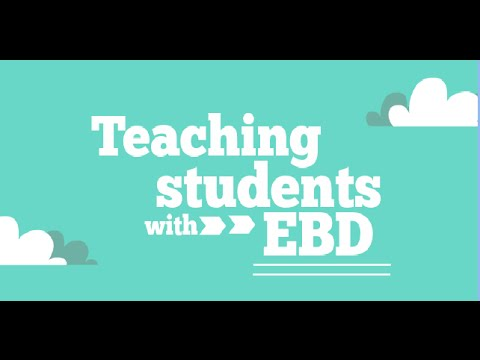 challenges of teaching students with ebd essay Experiences for students with emotional/behavioral disorders can education services] actual number of students with ebd is.