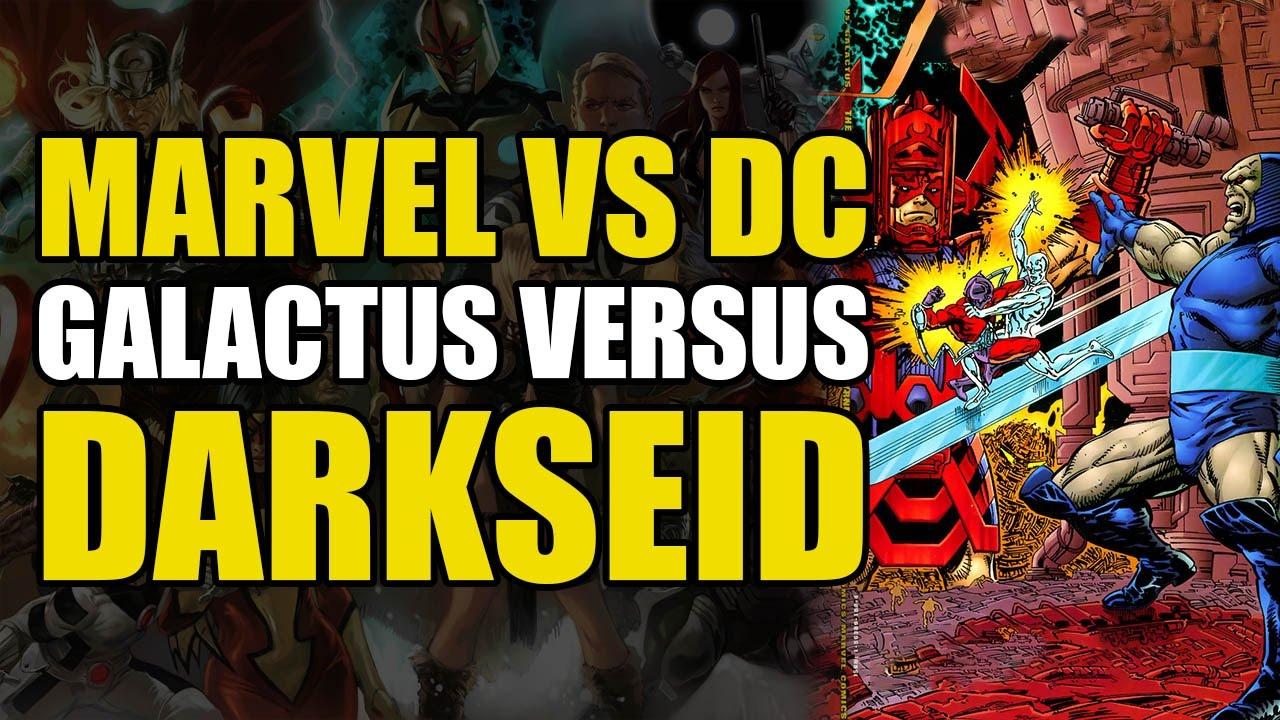 Darkseid vs Galactus The Hunger (DC vs Marvel: The Hunger)
