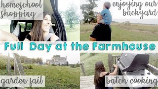 BATCH COOK & MEAL PREP WITH ME | HOMESCHOOL SHOPPING | DITL