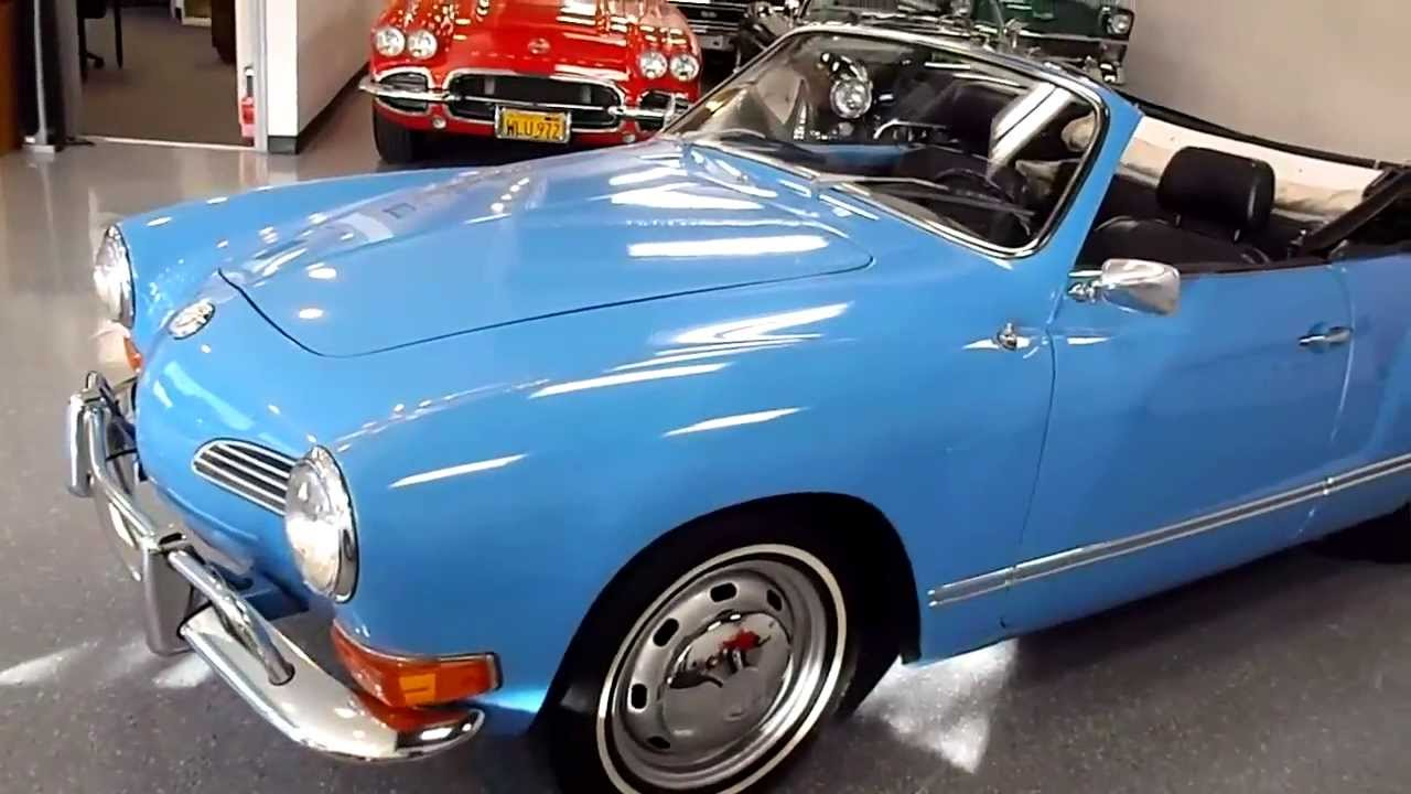 Volkswagen Beetle Convertible >> 1970 Volkswagen Karmann Ghia - YouTube