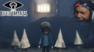 BOWLER BALL IS BACK BUT I BROUGHT BACKUP THIS TIME | Little Nightmares (The Hideaway) NEW DLC thumbnail