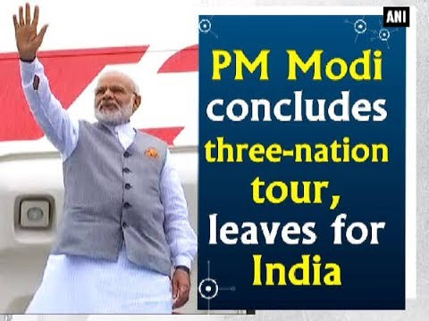 Thumbnail: PM Modi concludes three-nation tour, leaves for India - Netherlands News