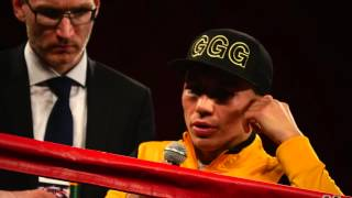 Gennady Golovkin vs Willie Monroe Post Fight Interview and Post Conference