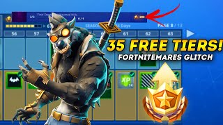 *35* FREE Battle Pass TIERS GLITCH in Fortnite PATCHED! (Fortnite Battle Royale)