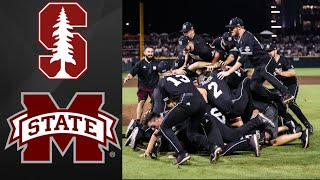 #6 Mississippi State vs #11 Stanford Super Regional Game 2 | College Baseball Highlights