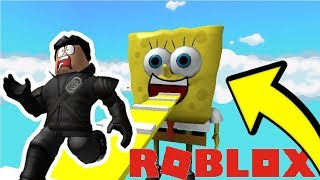 WE MUST ESCAPE FROM SPONGEBOB! (Roblox Obby)