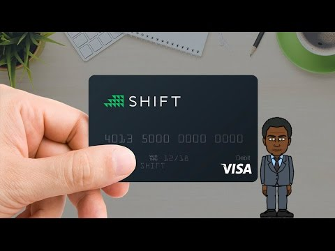 How To spend bitcoin anywhere VISA is accepted.(Shift Card)