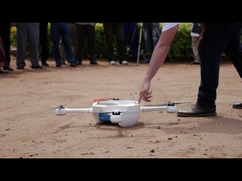 Malawi drone test centre to help with healthcare, disasters