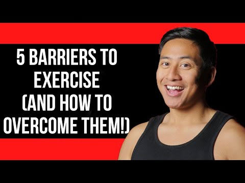 5 Barriers to Exercise (AND HOW TO OVERCOME THEM!)
