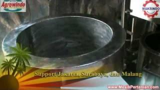 Training Mesin Pembuat Minyak VCO (Agrowindo)