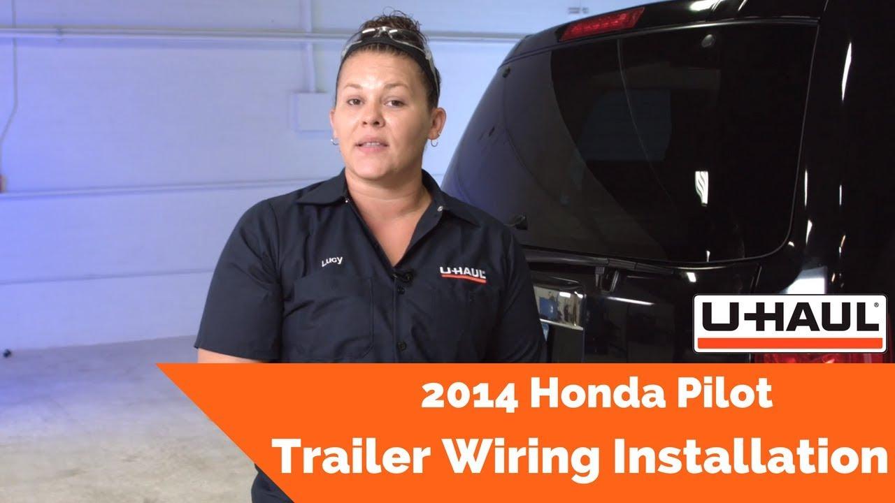 2014 Honda Pilot Trailer Wiring Installation Youtube