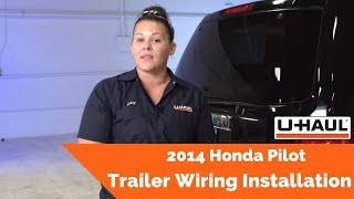 2014 Honda Pilot Trailer Wiring Installation - YouTubeYouTube