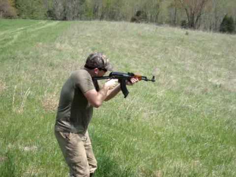 AK-47, Burst Fire, 30 Rounds