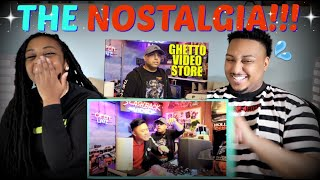 "DashieXP ""GHETTO VIDEO STORE!"" REACTION!!!"