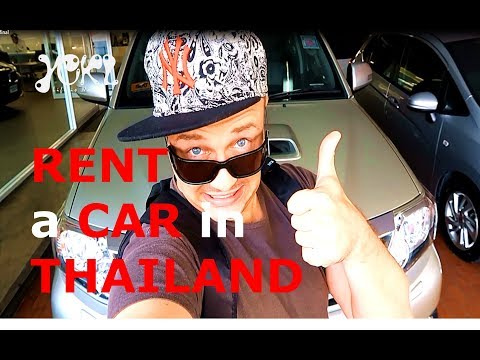 HOW TO RENT A CAR IN THAILAND