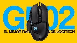 El MEJOR ratón gaming de LOGITECH: Logitech G502 análisis en español