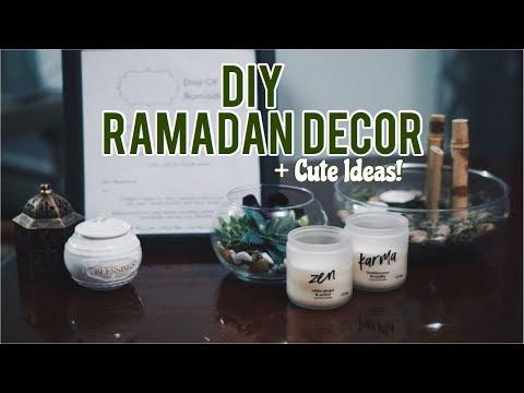 DIY Ramadan Decor 🕌(Last Minute!)