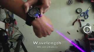 Real Burning Laser Watch