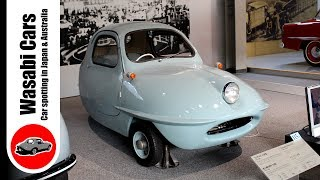 Fuji Heavy Industries (Subaru) Micro-car: The 1955 Fuji Cabin 5A