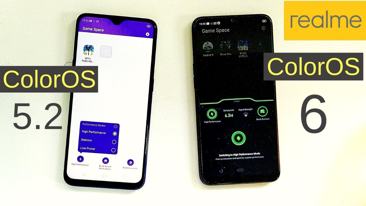 ColorOS 6 Apps Update: New Game Space, Gallery App, File Manager, Recorder  App, Dialer App | Changes