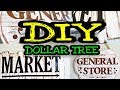 Gambar cover Dollar Tree DIY Farmhouse Decor / DIY Farmhouse Kitchen Decor