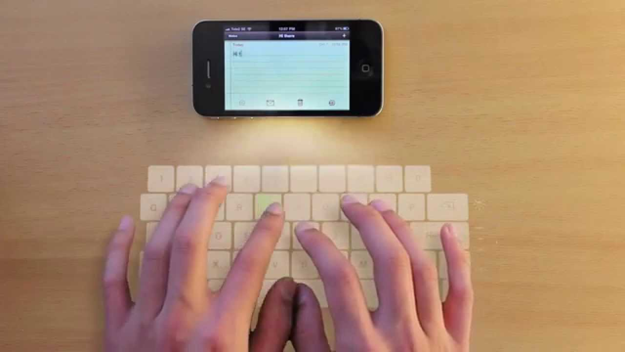 iphone projection keyboard It beams a laser keyboard onto any desk or table, letting you touch-type on a full- size keyboard using a device that's even more compact and portable than your smartphone here are some highlights from the product page: easliy pair laser projection keyboard for your iphone, ipad, smartphone, laptop or.