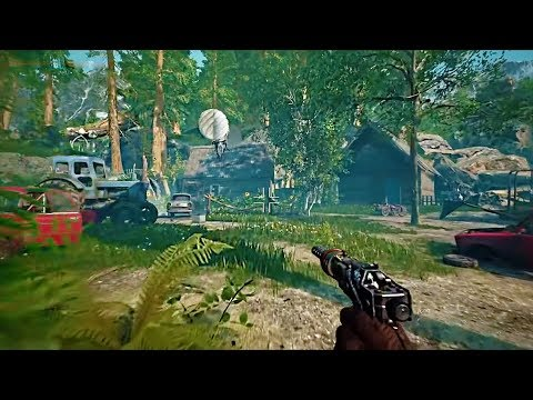 Atomic Heart -  PS4 Gameplay Demo FPS Soviet-Union Game (2019)