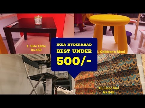 IKEA Hyderabad | 28 Best Products Below Rs 500 | Price Details | Product Descriptions